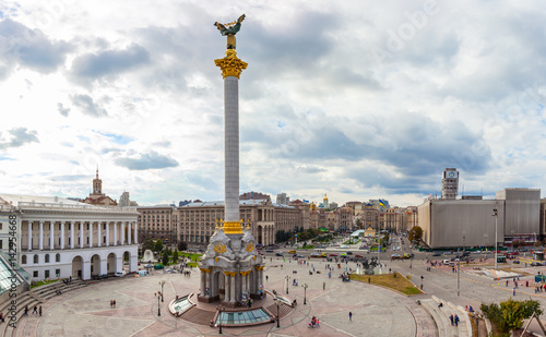 Foto op Canvas Kiev Independence Square - Maidan Nezalezhnosti in Kiev, Ukraine.