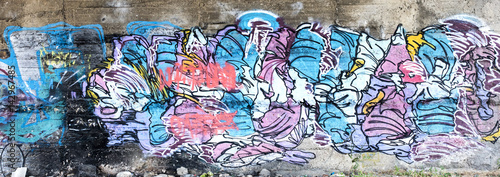 Aluminium Graffiti Street wall graffiti