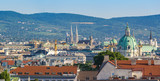 Vienna panorama city skyline, Vienna, Austria