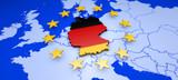 Deutschland und Europa - Konzept Demokratie, Einwanderung und Wirtschaft - 142996099