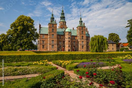 Rosenborg castle, Copenhagen Poster
