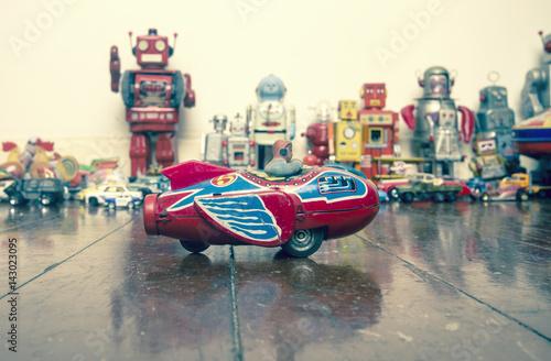 Foto op Canvas vintage toys