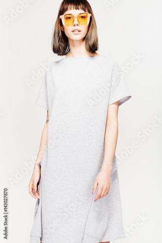 Plakat Fashion girl's portrait