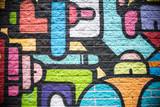 Multi Color Brick Wall Background