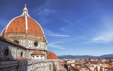 Dome of the Cathedral Santa Maria del Fiore, Florence, Italy