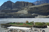 Green Oasis Garden, on the shore of Kali Gandaki River near Chhusang village, Upper Mustang, Nepal.
