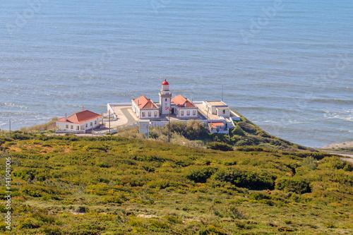 Poster Vista Panorâmica do Farol do Cabo Mondego na Figueira da Foz Portugal