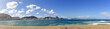 Quadro Panoramic image of Copacabana beach in Rio de Janeiro