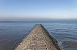Breakwater Cutting across the sea