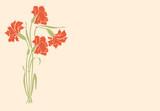 Katarka, goździki, pozim