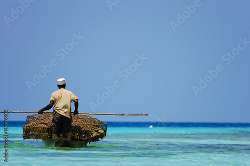 Zanzibar Merchant Transporting Goods - Zanzibar - Tanzania