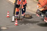 Kanalsanierung, Kanalreinigung, Inspektion - 143084022