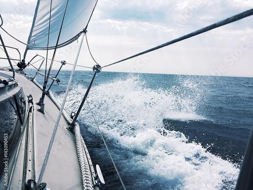Fotobehang Zeilen Die Freiheit der Nordsee