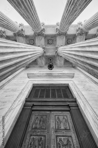 Entrance to U.S. Supreme Court Poster