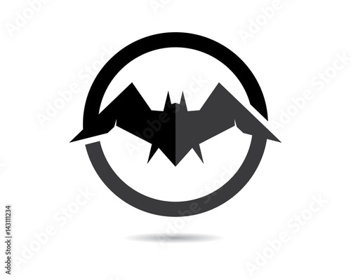 Bat Logo Template