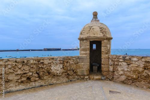 Castle of Santa Catalina at Cadiz, Spain Poster