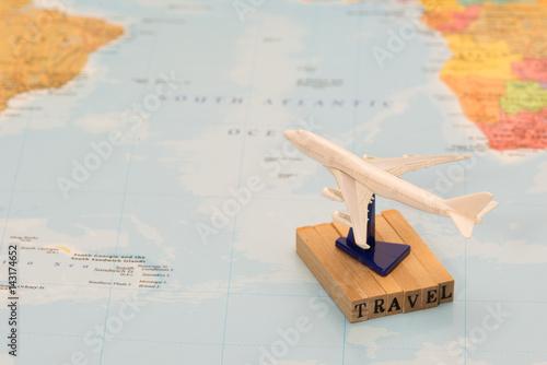 Poster 飛行機での旅