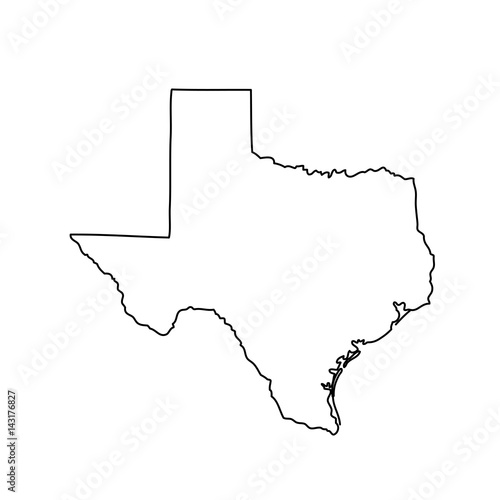 map of the U.S. state of Texas  - 143176827