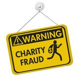 Charity Fraud warning sign