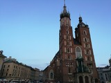 The Basilica of Santa Maria in Krakow