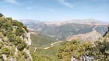 Passo di Sa Scala 'e Sa Marra, Montarbu, Sardegna (Sardinia), Falesie