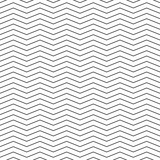 Vector seamless pattern. Modern stylish texture. Monochrome geometric pattern with broken lines. - 143207640