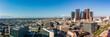 Quadro Panorama view of Los Angeles skyline