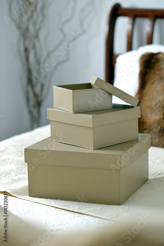 Leather boxes Poster
