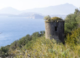 ancient lookout post in naples gulf