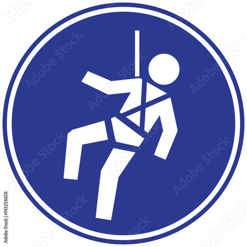 Safety Harness Sign Buy Photos Ap Images Detailview