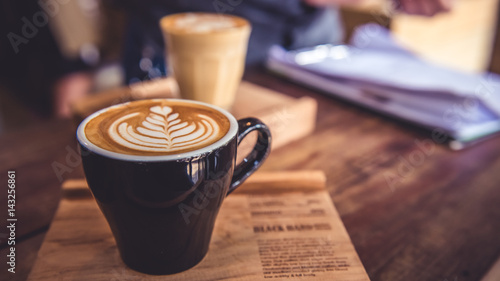 Papiers peints Cafe Hot Coffee Latte