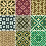 Retro seamless wallpaper patterns
