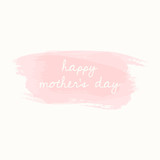 Mother's Day Greeting Card Design - 143283828