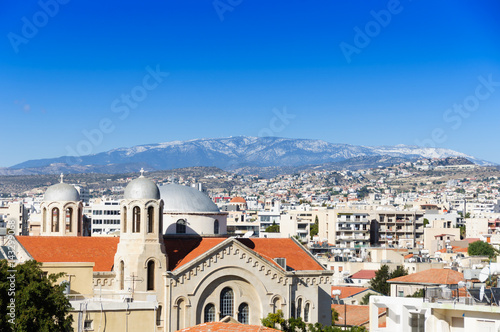 Foto op Canvas Cyprus orthodox cathedral. Limassol. Cyprus