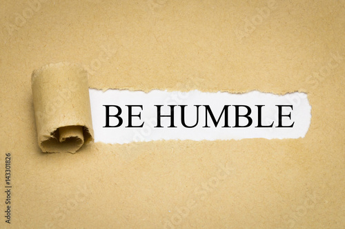 Be Humble Poster
