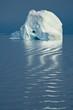 Iceberg Reflection, Navy Board Inlet, Nunavut, Canada