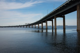 Throgs Neck Bridge connecting Queens to the Bronx in New York City - 143319062