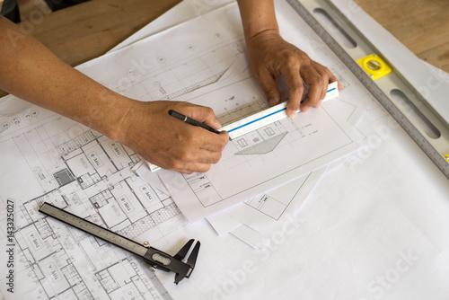 Poster Interior designer works