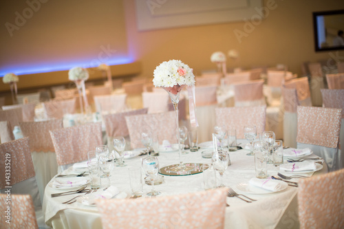 Wedding table decorations Poster