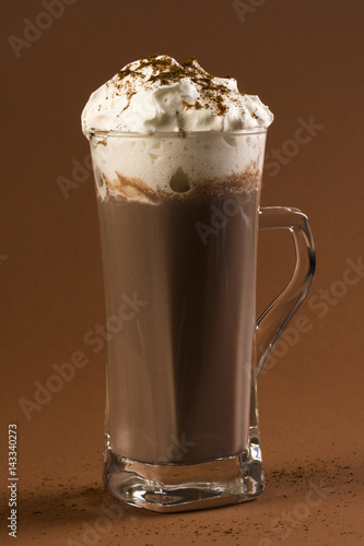 Fotobehang Chocolade hot chocolate drink