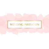 Wedding Invitation Design - 143341870