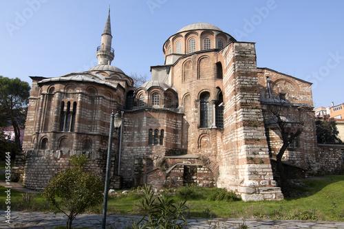 Chora Church, Istanbul, Turkey. Poster