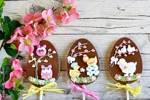 pasqua di fiori e cioccolato Poster