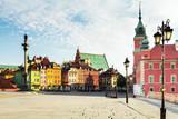 Fototapety Castle Square in Warsaw
