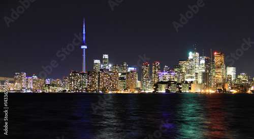 Aluminium Toronto Scenic view at Toronto city waterfront skyline