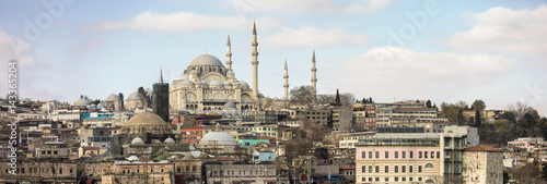 Poster Panorama of Istanbul, Turkey