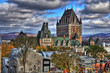 Old Quebec - Canada. High Dynamic Range picture.