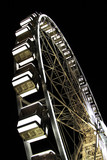 Ferris wheel in night