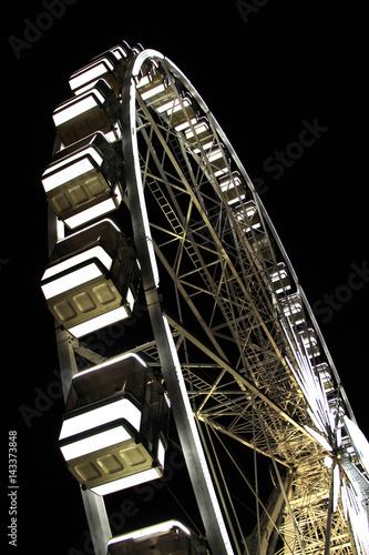 Ferris wheel in night