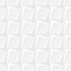 Light white geometric seamless pattern